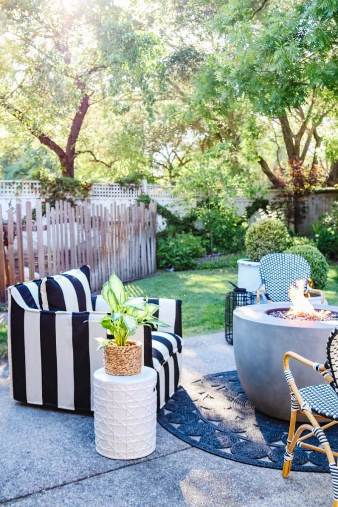 outdoor living room tour