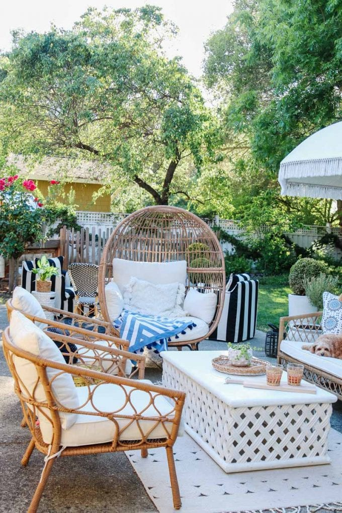summer patio tour