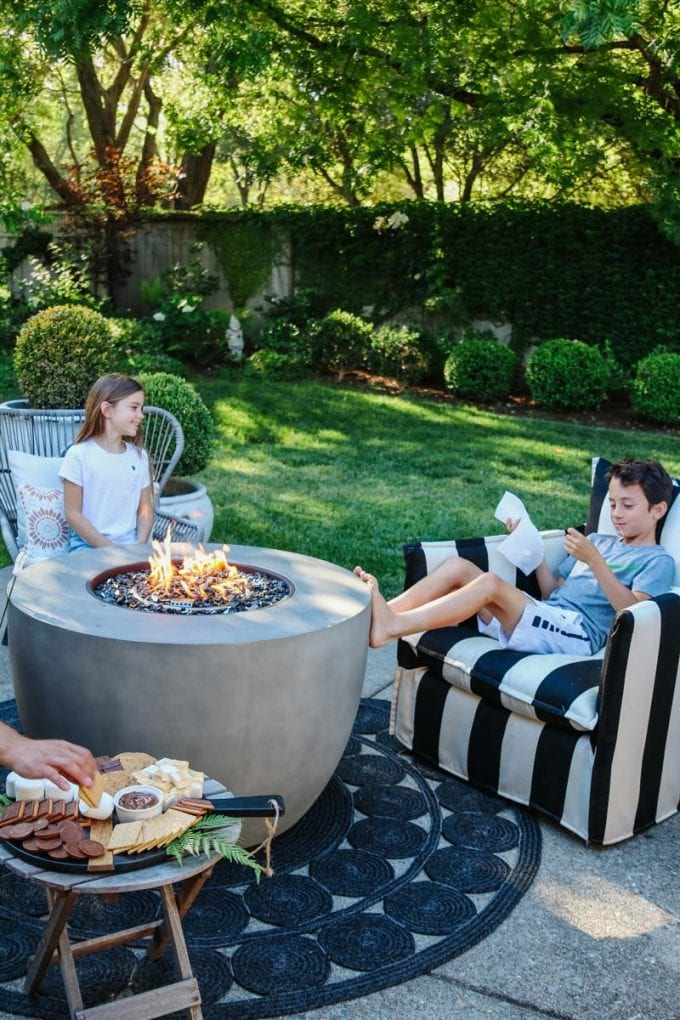 summertime s'mores recipe