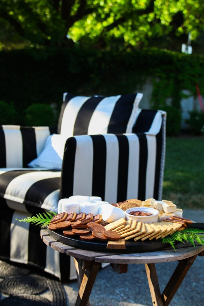 diy s'mores charcuterie board