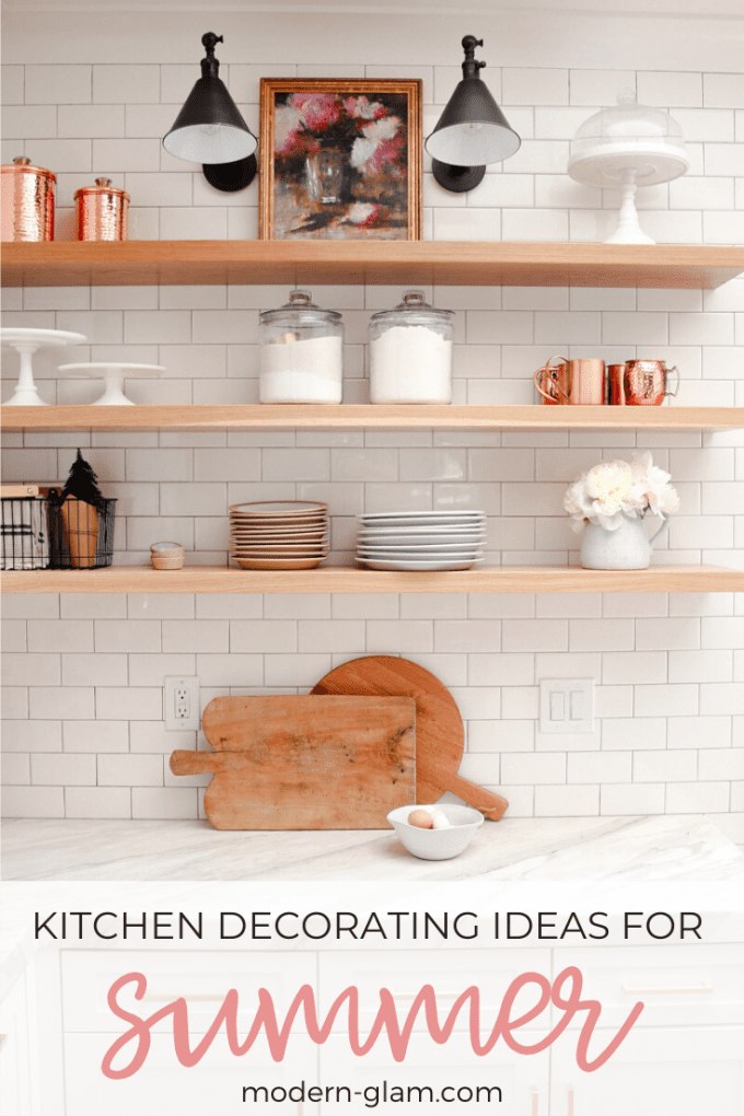 kitchen decorating ideas for summer