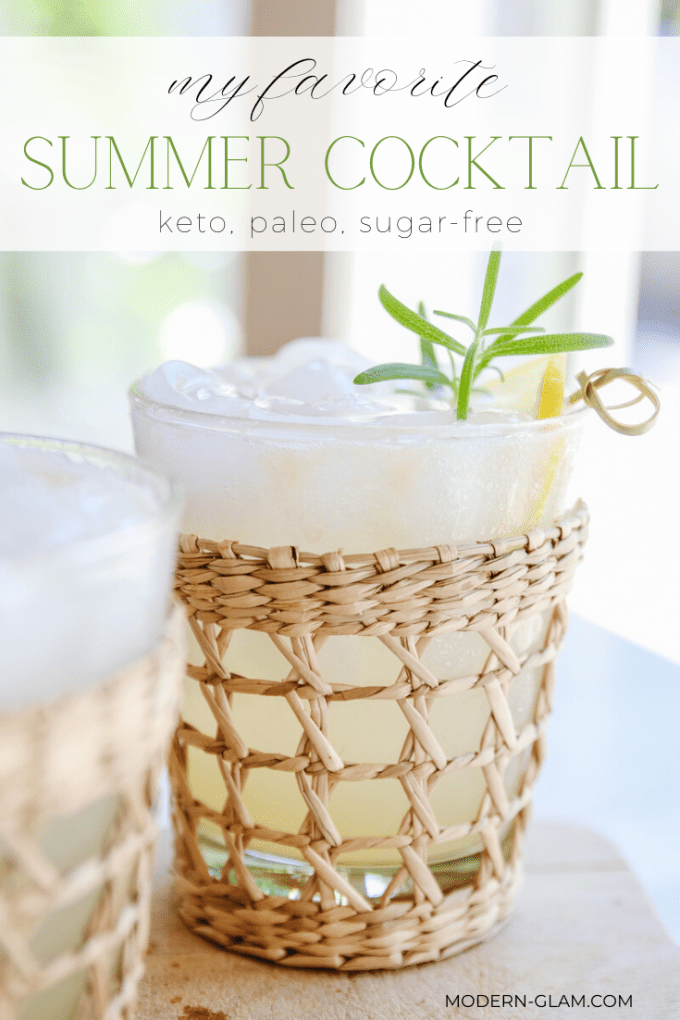 sugar free cocktail recipe