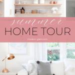 modern summer home tour