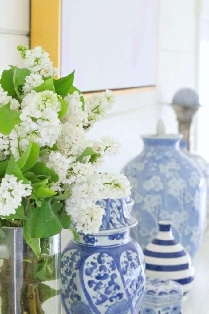 How to decorate your mantel for summer