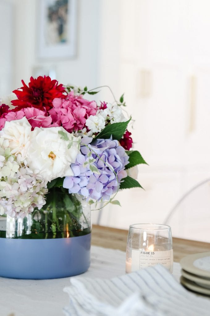 how to make an easy flower arrangement