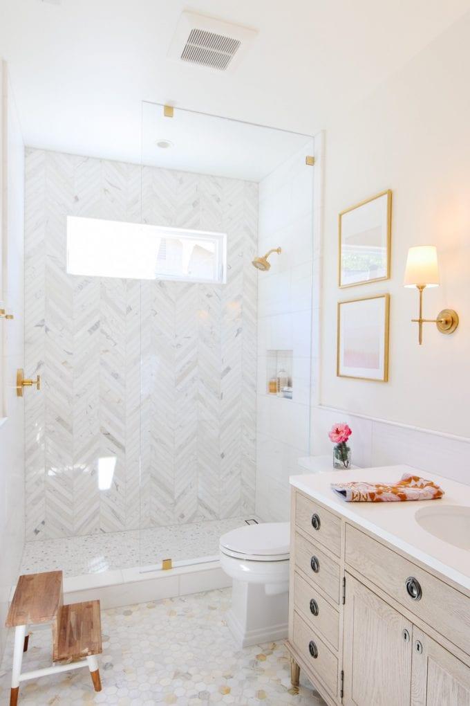 modern marble bathroom remodel