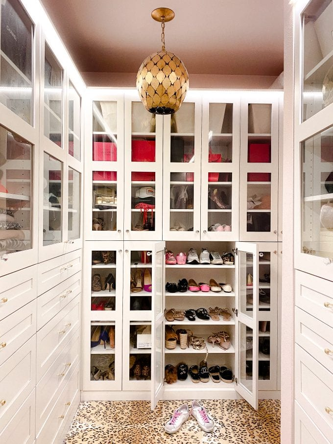 shoe storage closet organization ideas