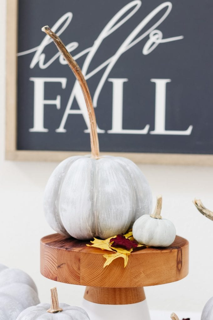 easy fall pumpkin diy