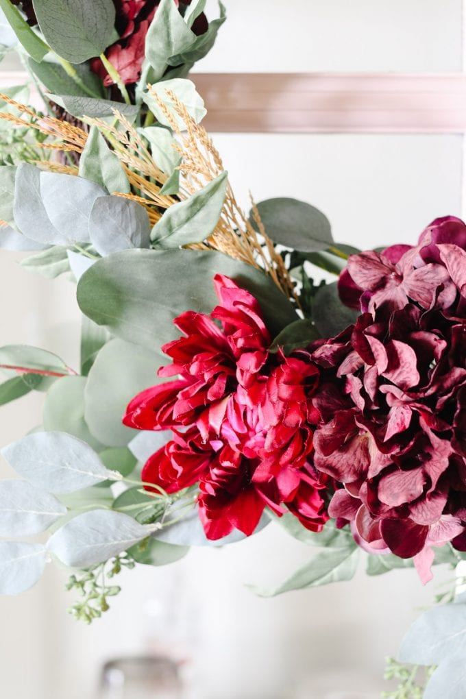 fall floral diy idea