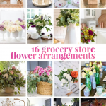 grocery store flower arrangements