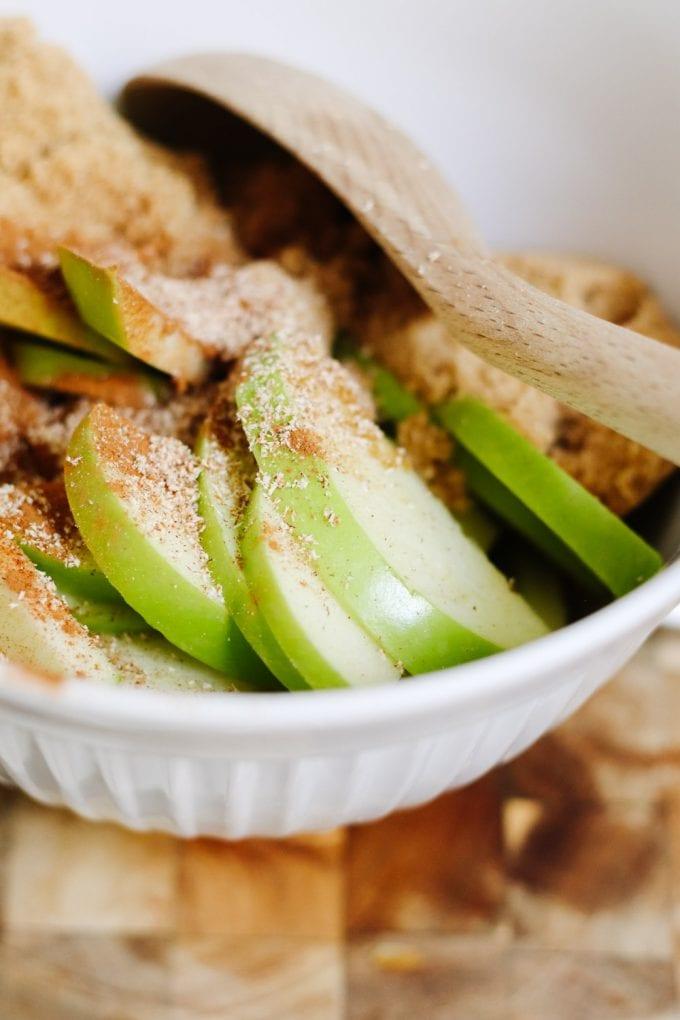 how to make apple dessert