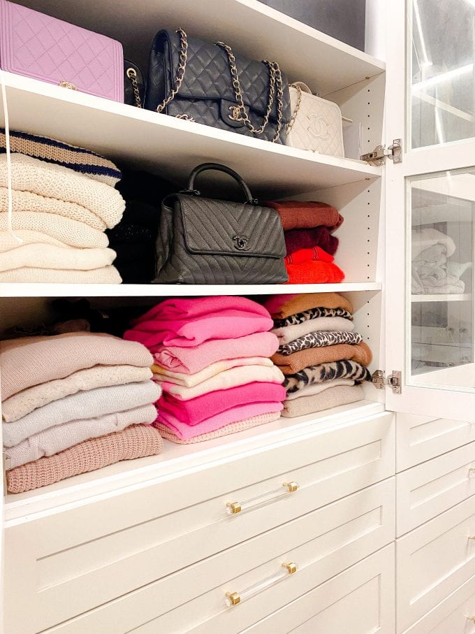 how to store sweaters