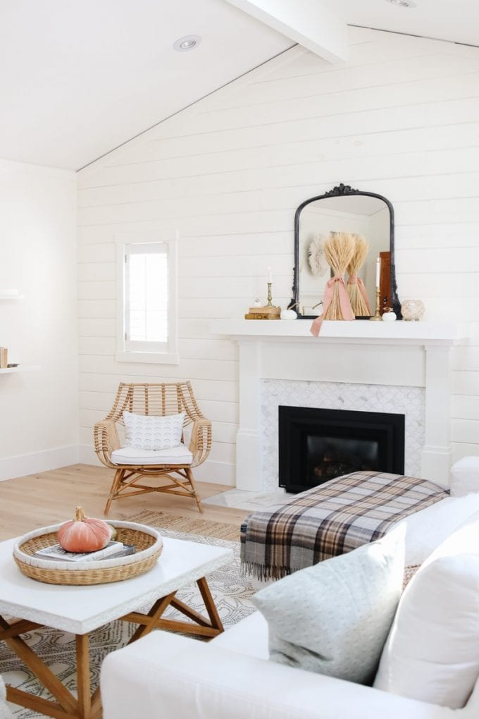 My Cozy Minimalist Fall Home Tour Modern Glam Interiors