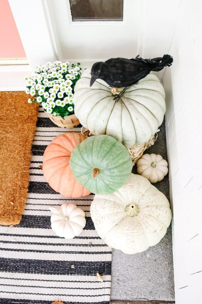 layered rugs for fall