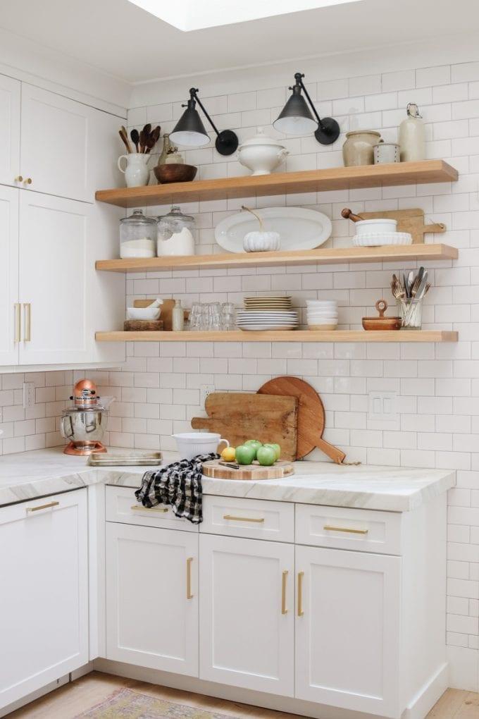 kitchen open shelving ideas
