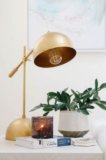 modern simple fall decor