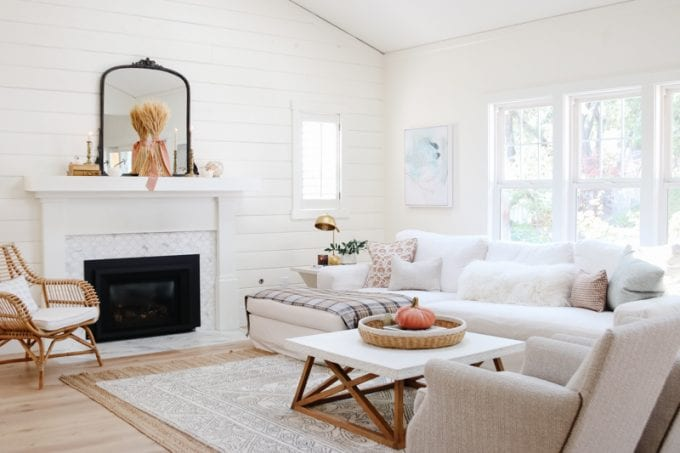 My Cozy Minimalist Fall Home Tour Modern Glam Interiors