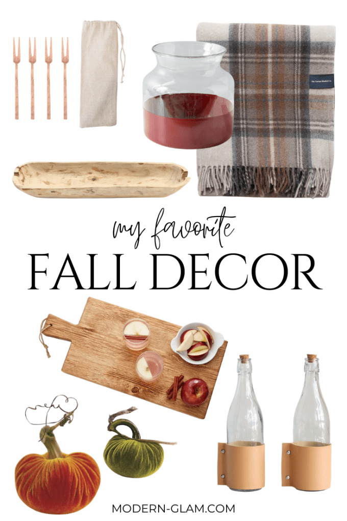 favorite fall home decor