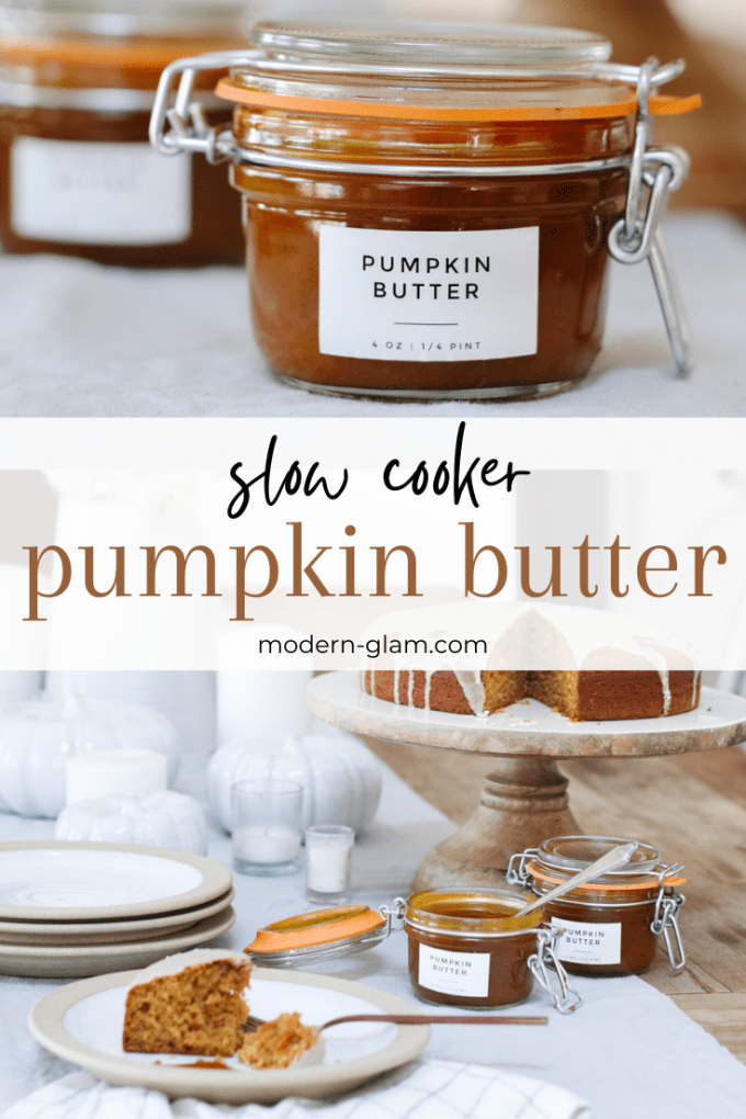 pumpkin butter made in the crockpot