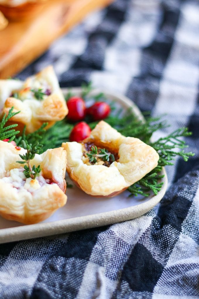 cranberry and cheese puff pastry recipe