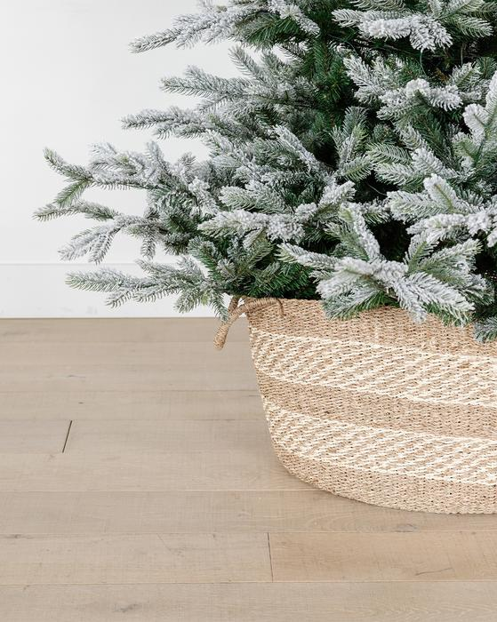 Tree Basket For Christmas