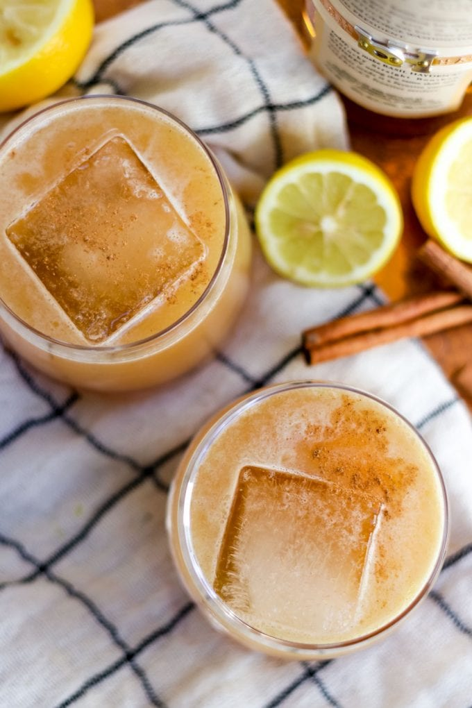 how to make a whiskey sour with apple cider