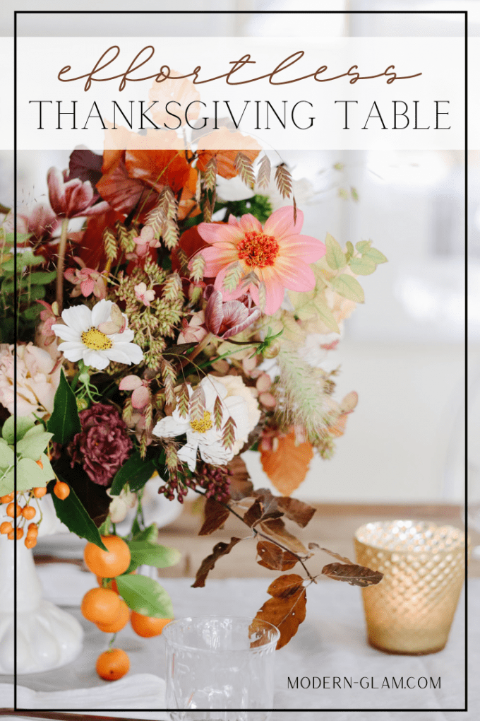effortless thanksgiving table idea