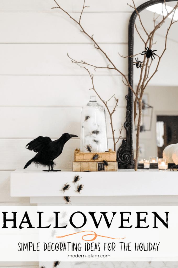 how to create simple halloween decor