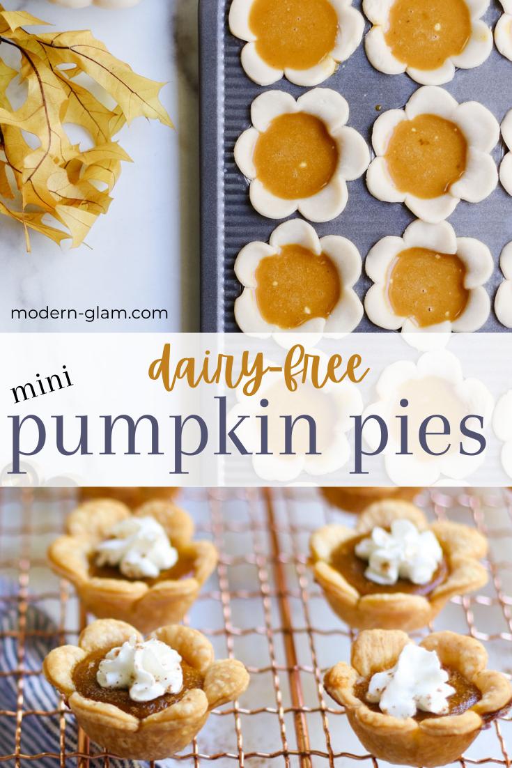 coconut milk pumpkin pie recipe via @modernglamhome