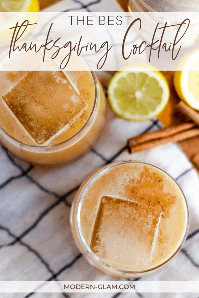 the best thanksgiving cocktail