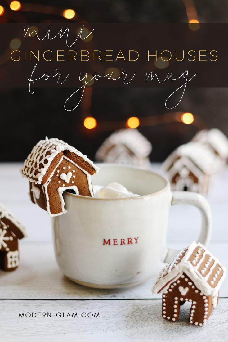 gingerbread mug huggers via @modernglamhome