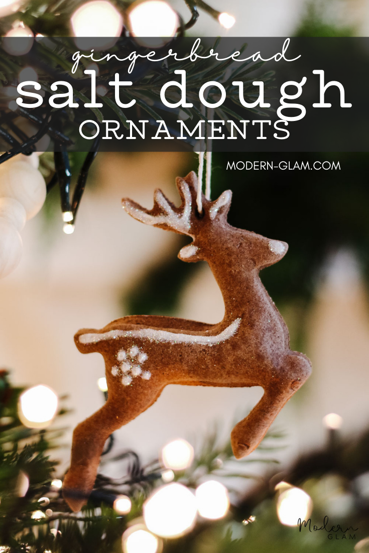 how to make essential oil ornaments via @modernglamhome