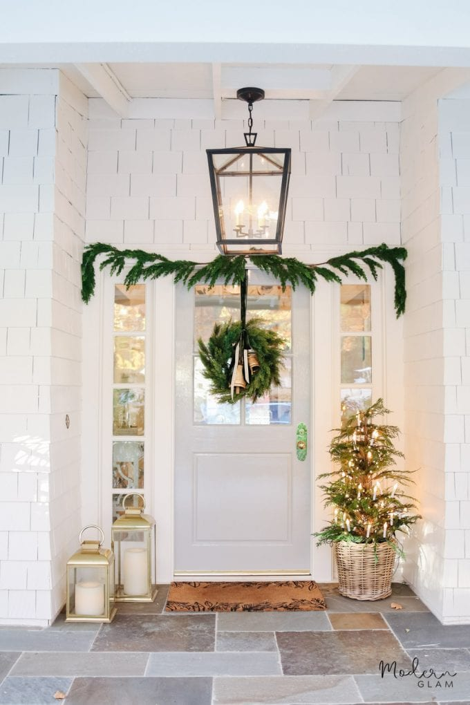 minimalist christmas home tour