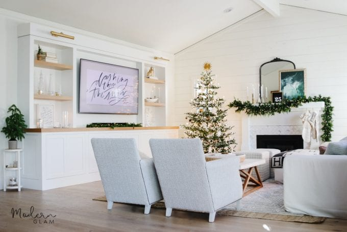 cozy minimalist christmas home tour