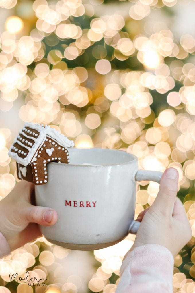 gingerbread houses for mugs