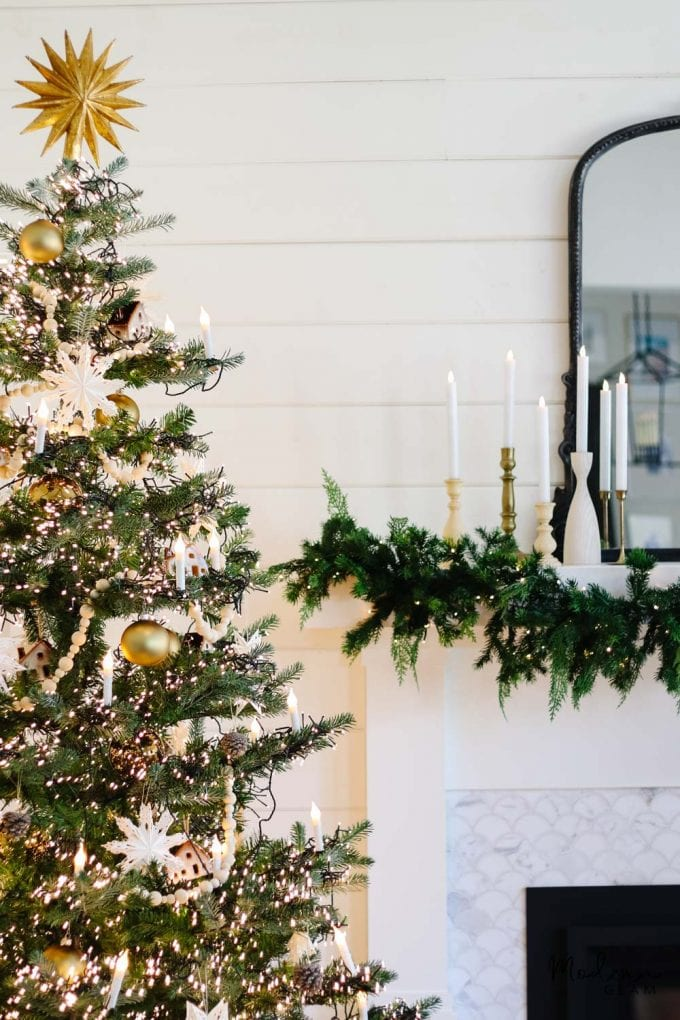 nordic style christmas tree decorations