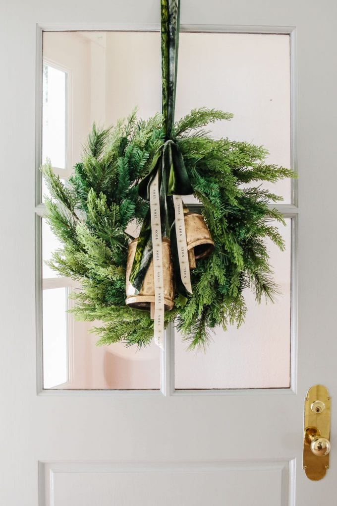 how to repurpose a christmas wreath