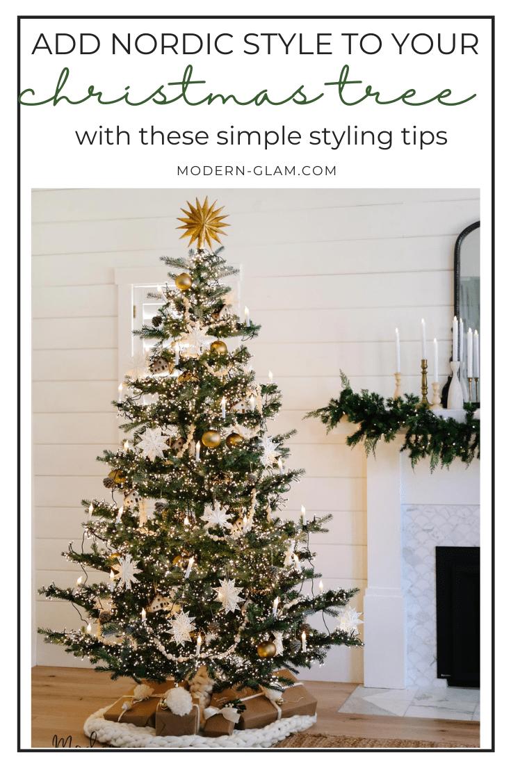 14 christmas tree decorating ideas via @modernglamhome