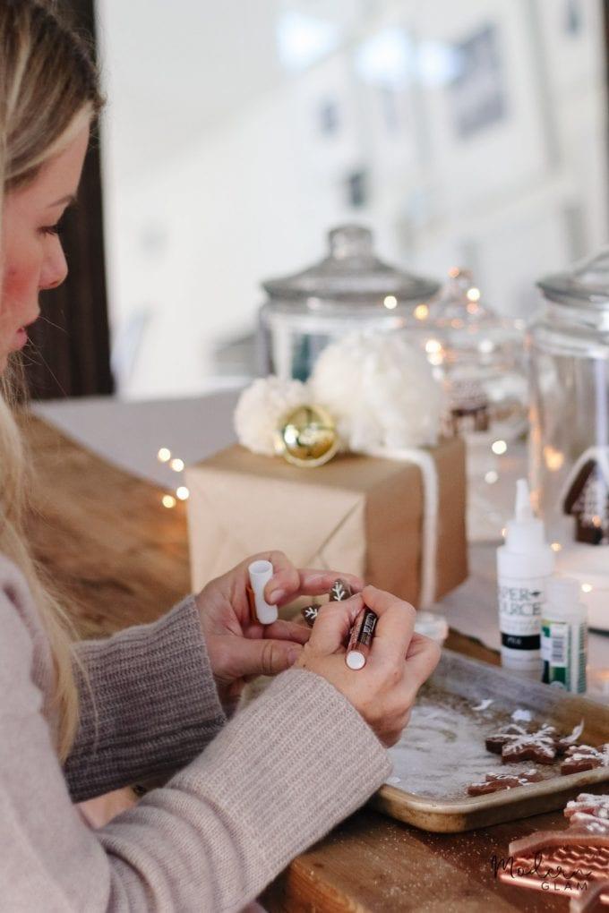 how to make salt dough gift tags