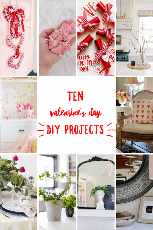 DIY Valentine's day idea via @modernglamhome