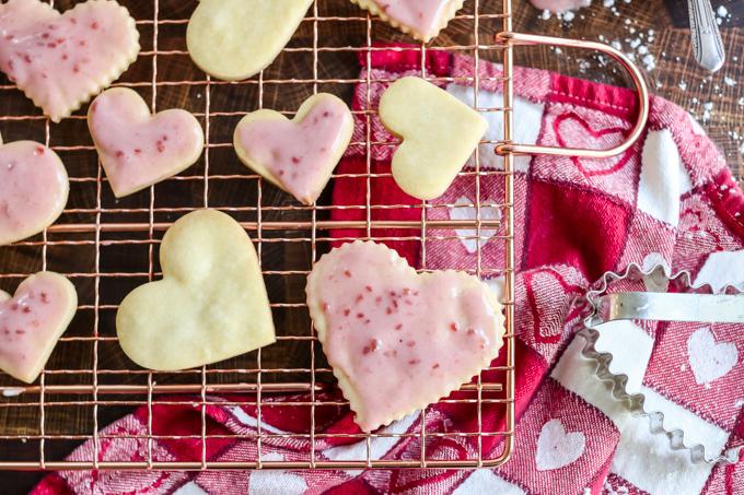 easy shortbread cutout cookies