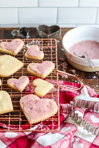 shortbread cut out cookie recipe
