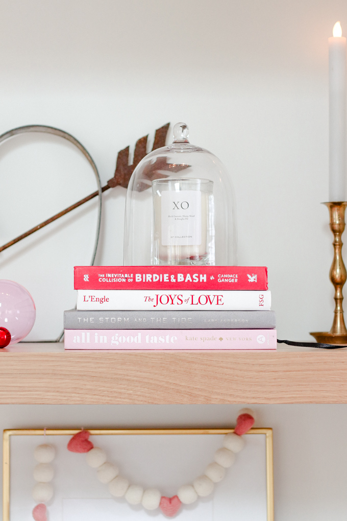 red and pink valentine's day decor