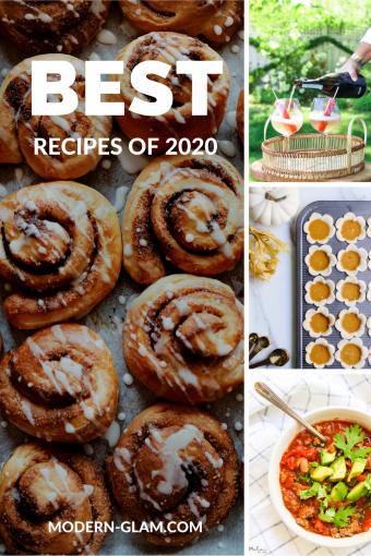 my favorite recipes 2020