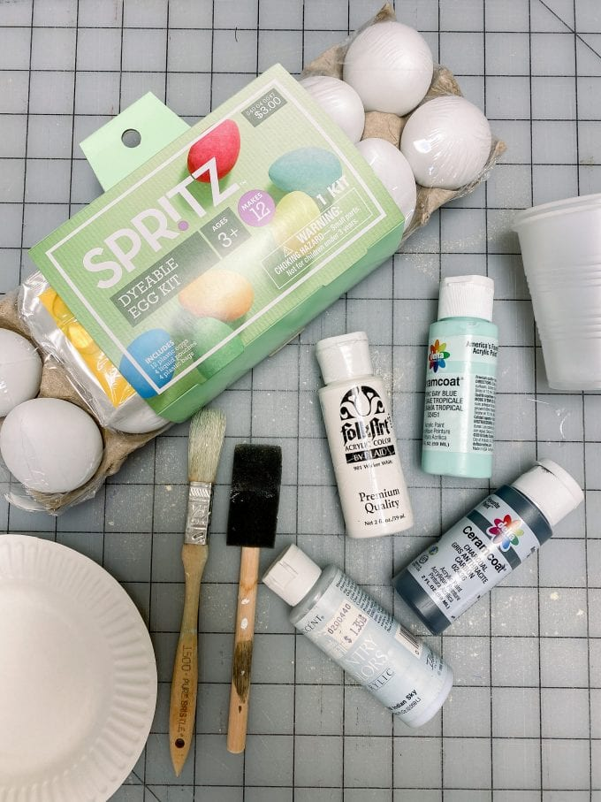 painted eggs supplies