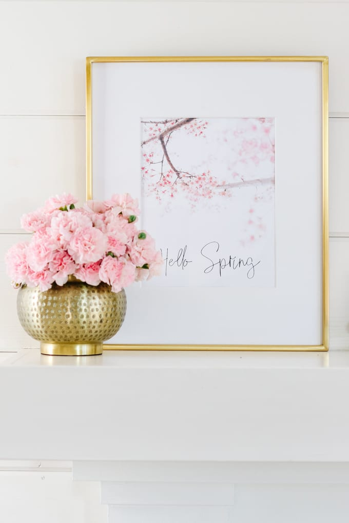 cherry blossom printable
