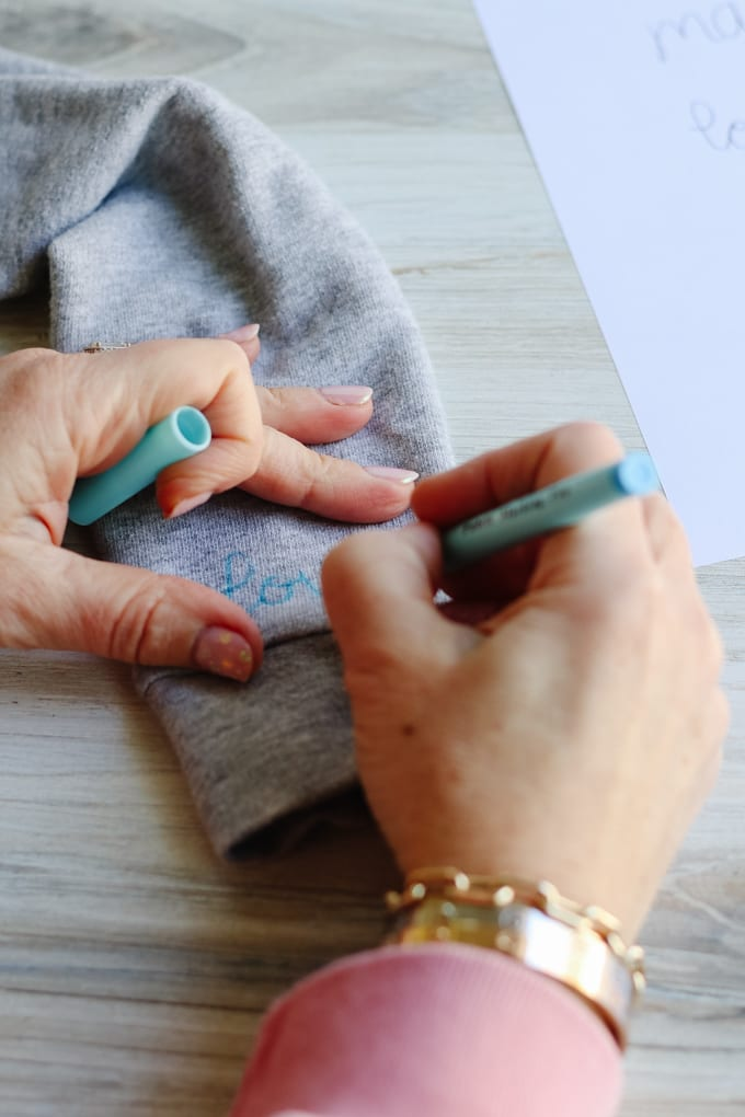 how to embroider on a sweatshirt
