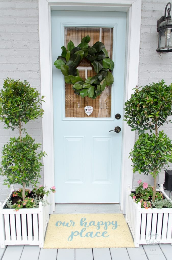 the best painted front door colors