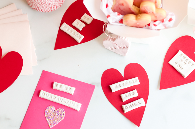 homemade valentine's day card idea