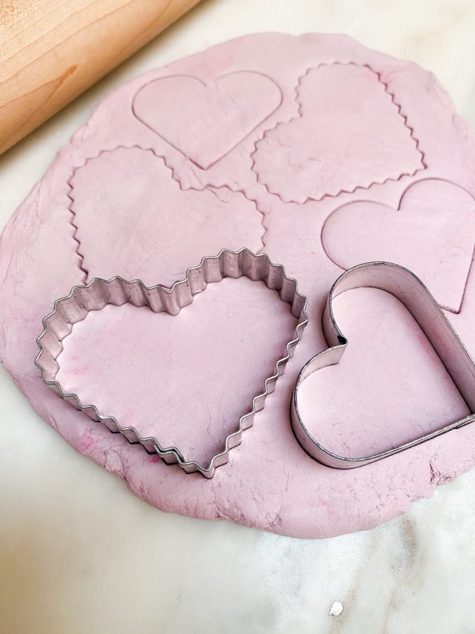 how to bake air dry clay
